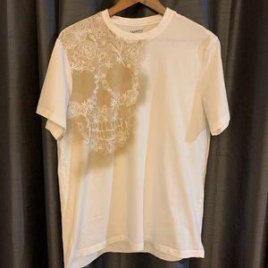 Daniel Cremieux Graphic Tee Shirt White Size Large